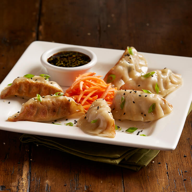 Look Up Number >> Chicken Pot Stickers | Menu | BJ's Restaurants and Brewhouse