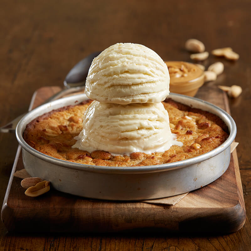 Look Up Number >> Peanut Butter Pizookie | Menu | BJ's Restaurants and Brewhouse