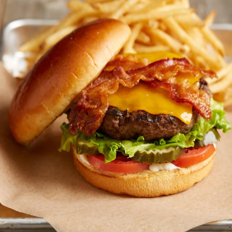Bacon Cheeseburger | Menu | BJ's Restaurants and Brewhouse