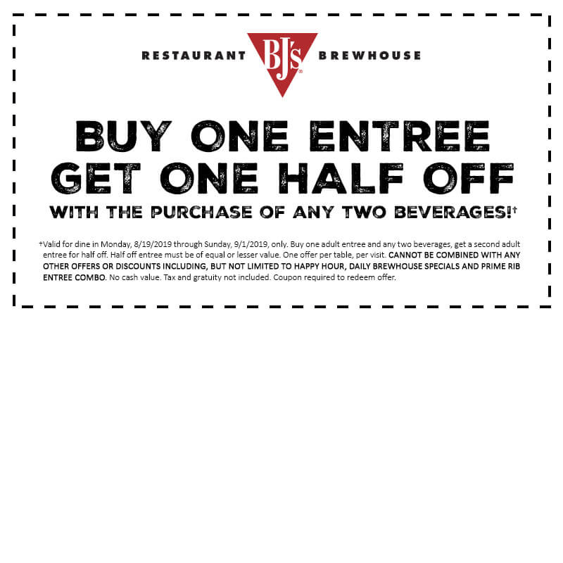 Buy one get one coupon offer