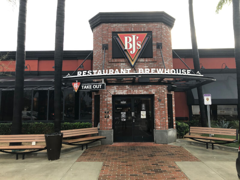 Arcadia, California Location - BJ's Restaurant & Brewhouse