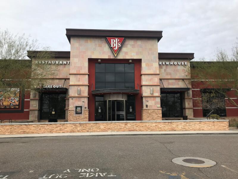Peoria, Arizona Location - BJ's Restaurant & Brewhouse