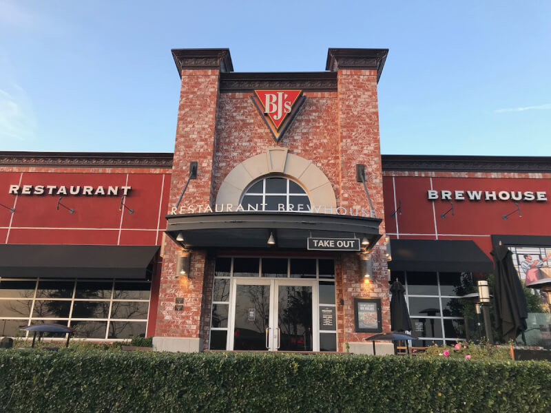 Rancho Cucamonga, California Location - BJ's Restaurant & Brewhouse