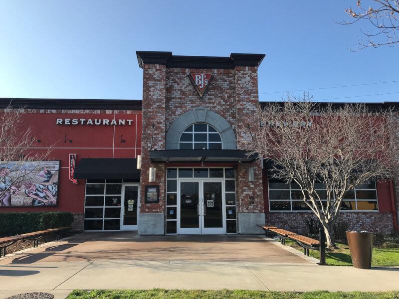 Roseville, California Location - BJ's Restaurant & Brewhouse