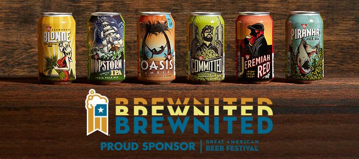 Brewnited logo - Great American Beer Festival